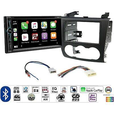 Power Acoustik CPAA-70D Car Radio Dash Install Mount Kit Stereo Apple CarPlay