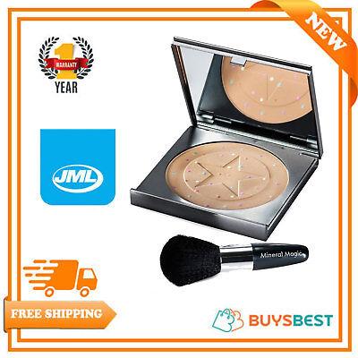 Make-up Corrector (JML Mineral Magic Foundation Concealer Colour Corrector Powder Make Up + Brush)