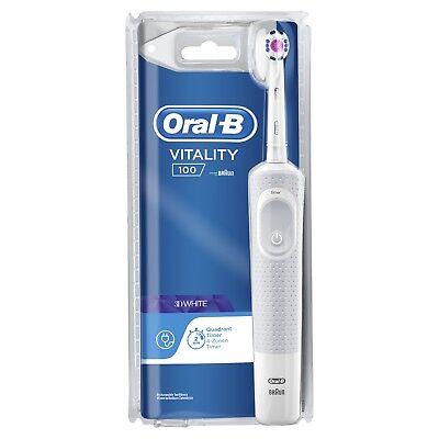 Cepillo de dientes eléctrico Oral-B Vitality 3D - Blanco