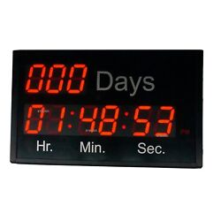2.3'' LED Countdown Clock Countdown/Up 1000 Days for New Year Big Event