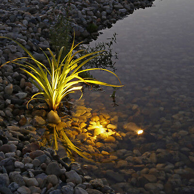 LED Gartenteichbeleuchtung Unterwasserscheinwerfer Teichstrahler Teichlampe 12V