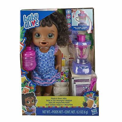 Baby Alive Magical Mixer Baby Doll Berry Shake Blender Accessories (Black Hair) comprar usado  Enviando para Brazil