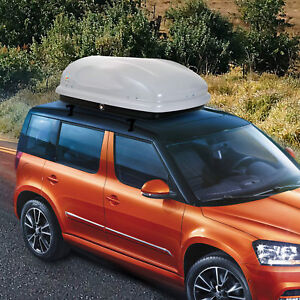 7 CU FT Cargo Box Car Roof Top Carrier Travel Luggage Storage Baggage SUV Jeep