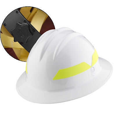 Xl Brim White Hat Bullard Wildland Fire Helmet With Ratchet Suspension