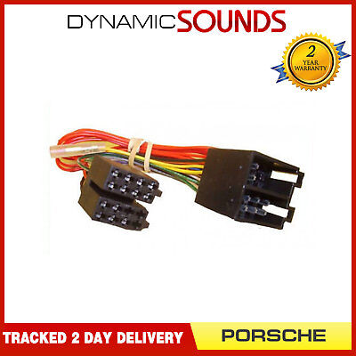 DS2-32-4 Wiring Harness Adaptor ISO Lead for Porsche 911 Boxster Cayman