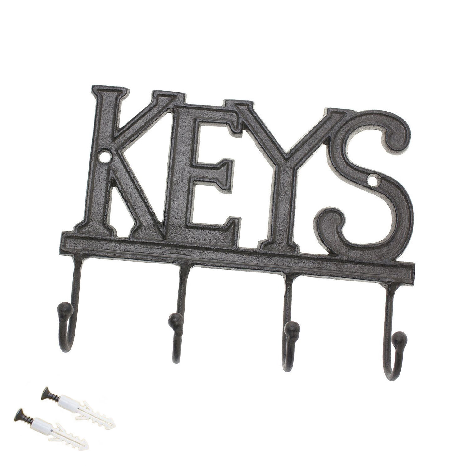 Comfify Key Holder - Keys - Wall Mounted Key Hook - Rustic W