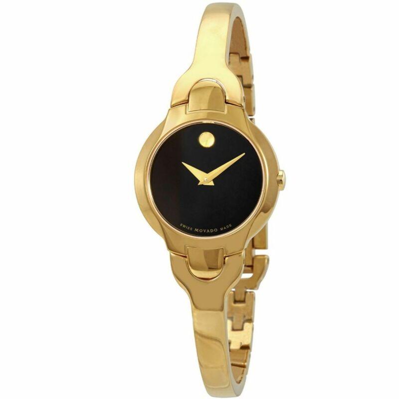Movado 606936 Women Kara Black Quartz Watch