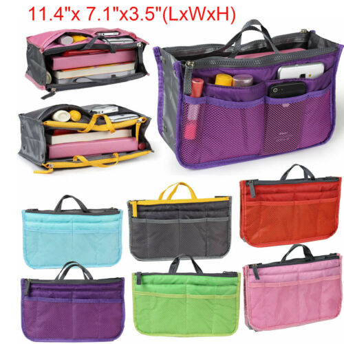 Large Organizer Toiletry Cosmetic Bag Travel Makeup Storage