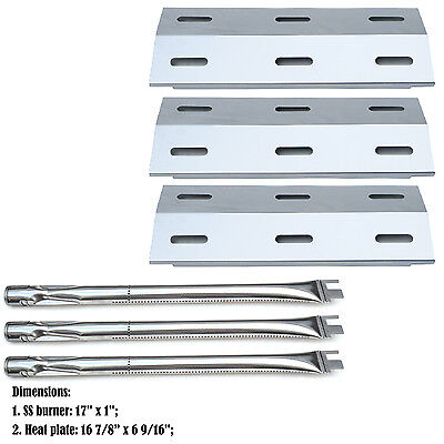 Replacement Burners & Heat Plates for Ducane Gas Barbecue Grill 30400040