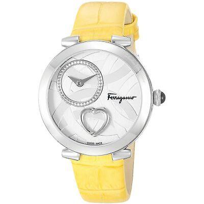 Ferragamo FE2010016 Women's Cuore Silver-Tone Quartz Watch