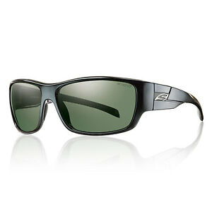c109bcf7a17 Smith Optics Frontman Polarized Black Grey Green Sunglasses