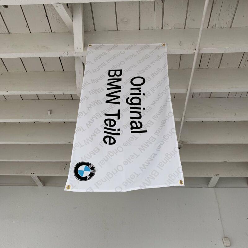 BMW Teile Banner Original Parts Garage Banner e60 roadster competition m4 e39 i6