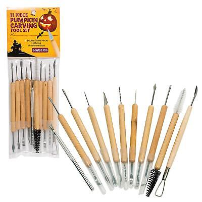 21 Pcs Pumpkin Carving Tools Double Sided Halloween Sculpting Carve Kit - Halloween Pumpkin Carving Tool Kit