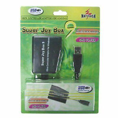Adaptador Mando XBOX a PC (SUPER JOY BOX 9)