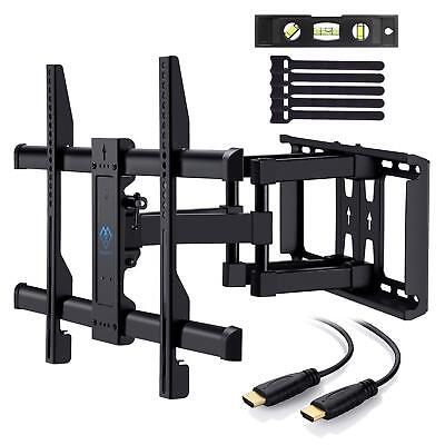Arm Plasma Wall Mount - Full Motion Articulating Swivel Arm TV Wall Mount for 37-70 LED LCD Plasma TVs