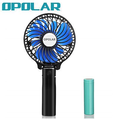 OPOLAR F212 Hand Held Portable Fan, Operated, Rechargeable, USB or Battery Fan](Hand Held Battery Operated Fans)