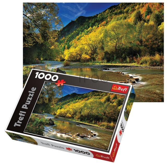Trefl 1000 Piece Adult Large Arrow River New Zealand Floor Jigsaw Puzzle NEW