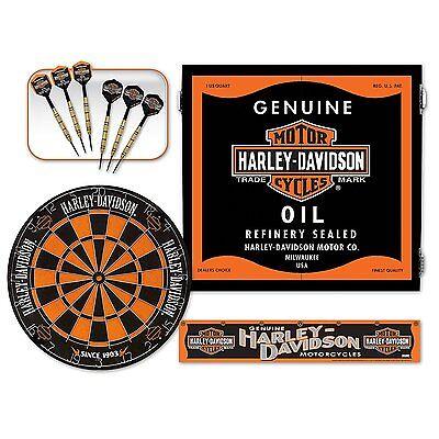 genuine oil can steel tip dartboard kit