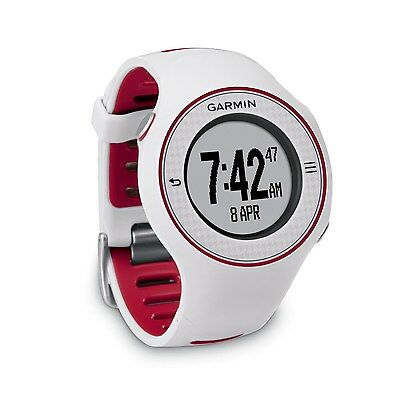 Garmin Approach S3 GPS Golf Watch w/ Free Liftime Course Updates - White/Red