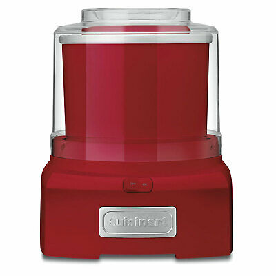 Cuisinart 1-1/2 Quart Ice Cream Maker ICE-21FR Red