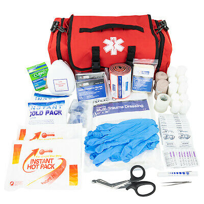 LINE2design First Aid Kit - EMS EMT Emergency Rescue Trauma First Responder Bag Ems Trauma Kits