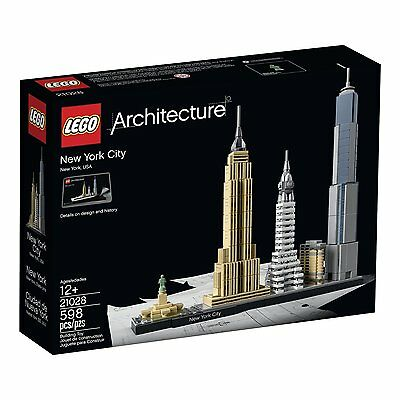 LEGO Architecture New York City 21028 New in Box Free Shipping!