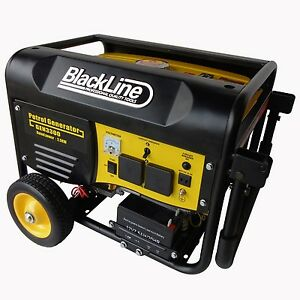 Blackline 3.3kw 4 Stroke 240volt Workshop Generator - GEN3000