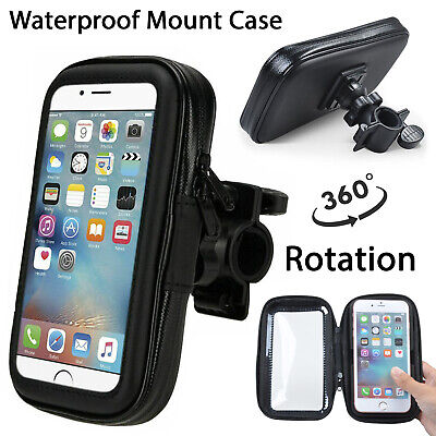 WATERPROOF Handlebar Mount Case For Various iPhone Bike Bicycle Holder Cover