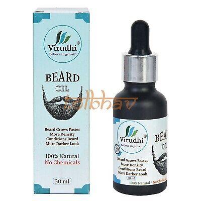 Virudhi Aceite para Hombre más Rápido Barba y Bigote Crecimiento (Aryuvédico)