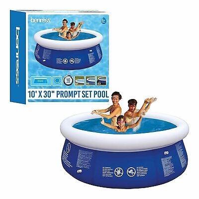 Inflatable Swim Pool Prompt Set Pool - 10Ft x 30Inches.