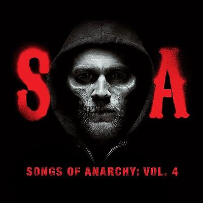 Sons Of Anarchy  Television Soundtrack    Songs Of Anarchy Vol 4  Cd New