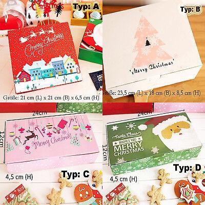 QUALITÄT Weihnachten Geschenkboxen handgemachte Kekse Dessert Kuchen Verpackung
