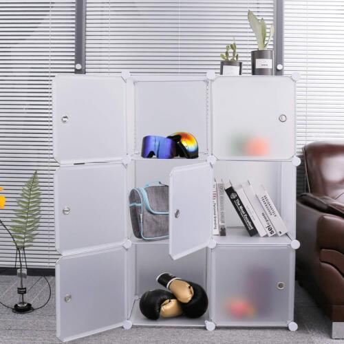Sturdy Portable Clothes Wardrobe Bedroom Armoire Storage Org