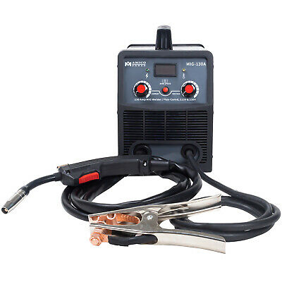 Amico Mig-130 Amp Migflux Core Welder 115230v Dual Voltage Inverter Welding