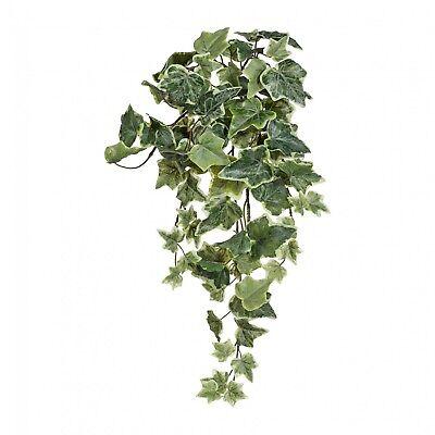 Holländischer Efeuhänger Kunstpflanze 170 cm grün-weiss gefrostet