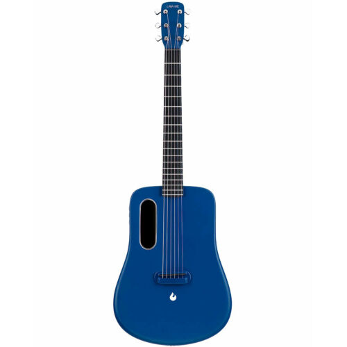 Lava Me 2 Air Sonic Freeboost  Carbon Fiber Ballad Travel Blue Acoustic Guitar