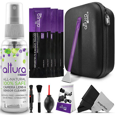 Altura Photo® Camera & Lens Cleaning Kit for DSLR Lenses, APS-C Sensors and LCD