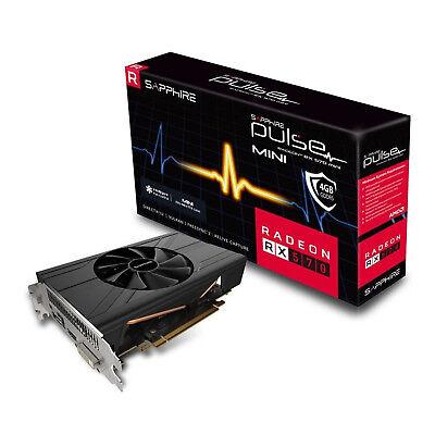 Sapphire 11266-34-20g PULSE Radeon RX 570 4GB ITX (UEFI) Graphics Card GPU