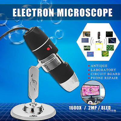 3 In 1 Wifi 8 Led 1000x Digital 2mp Hd 1080p Microscope Magnifier Camera Stand