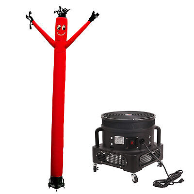 Mounto 20ft Red Air Inflatable Dancing Wind Dancer Dancing Sky Puppet W Blower