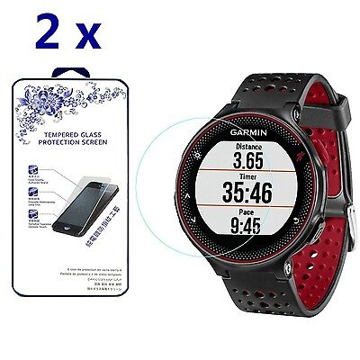 [2-Pack] For Garmin Forerunner 225 220 230 235 Tempered Glass Screen Protector