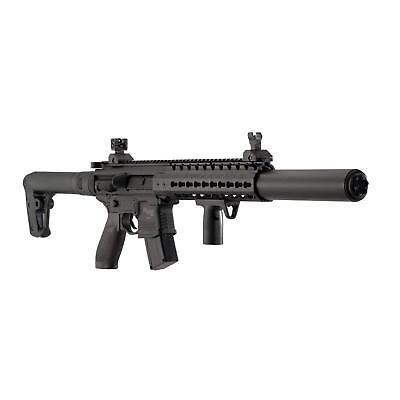 Sig Sauer AIR-MCX-177-88G-30-BLK MCX .177 Pellet CO2 Semi Auto Air Gun Rifle