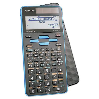 Sharp EL-W535TGB-BL Scientific Calculator w/ Writeview 16 Digit LCD - Brand New