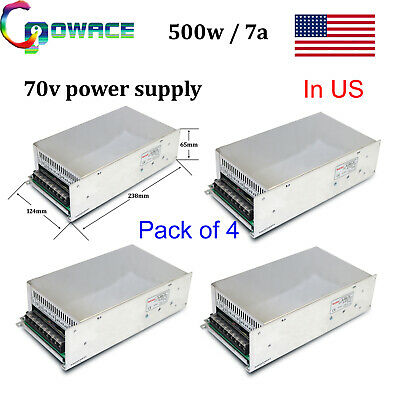 500w 70v Switching Power Supply 7a For Cnc Router Machine Motor4pcsin Us