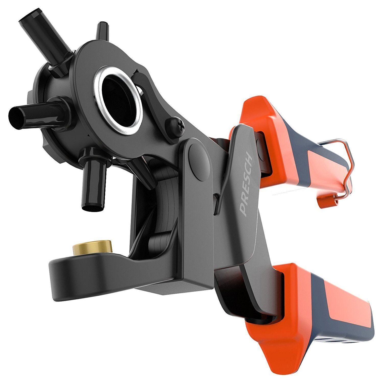 PRESCH Lochzange für Leder | Revolverlochzange Hebelübersetzung | Gürtel lochen