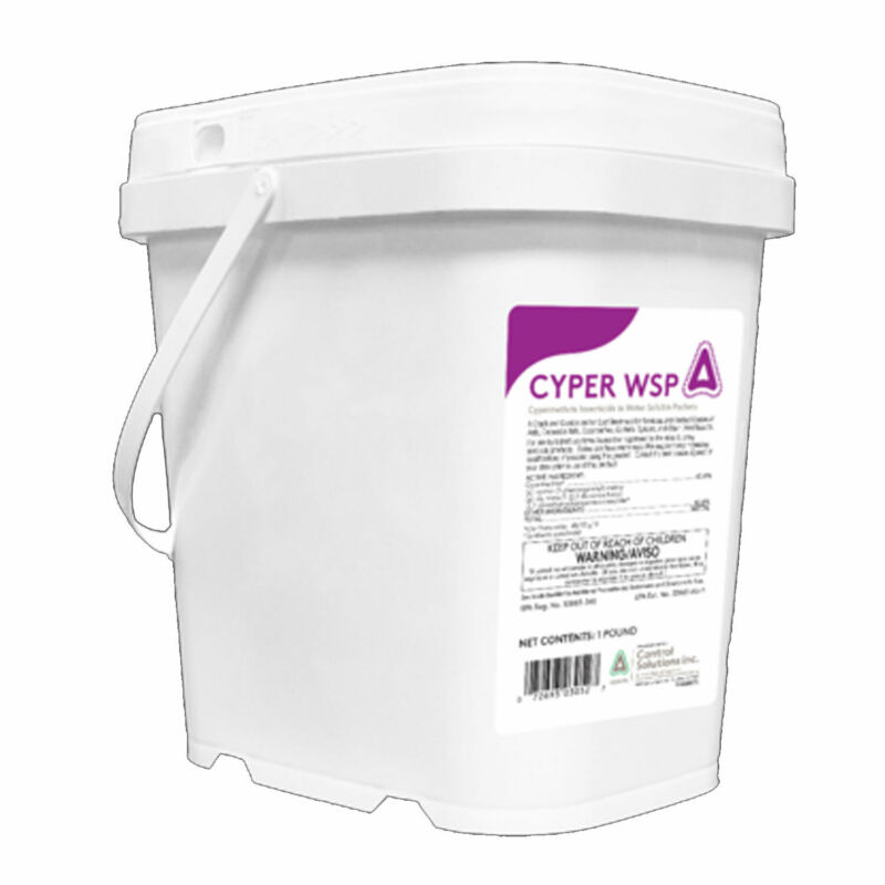 Control Solutions Cyper WSP 48 Count Water Soluble Pest & Insect Control Packets