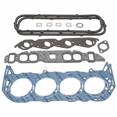 ENGINE #7363 GASKET SET ( HEAD INTAKE EXHAUST VALVE COVER ) FOR CHEVROLET