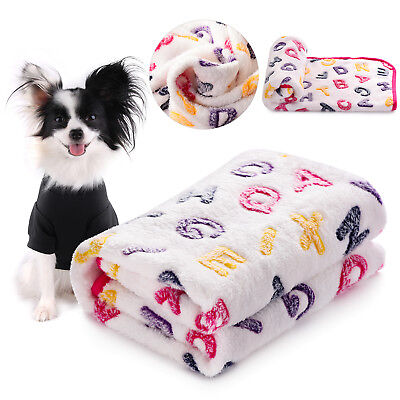 Soft Warm Fleece Blankets Pet Bed Mat Pad Cover Cushion For Baby Dog Cat Puppy