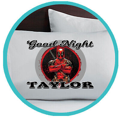 Deadpool  Pillowcase Pillow Case Gift Gifts Merchandise Merch Bedding Kids Child](Deadpool Merchandise)