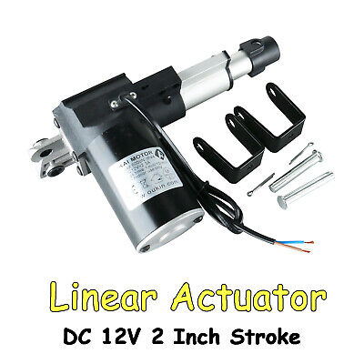 12v 2inch Stroke Linear Actuator 50mm 6000n Max Load For Recliner Electric Sofa